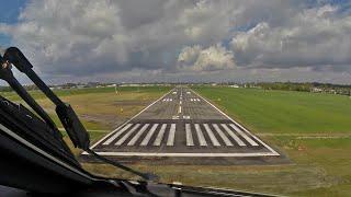 PilotCAM E-190 Short Runway Landing (Antwerp)