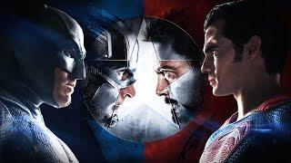 Batman v Superman v Iron Man v Captain America: Dawn of Civil War [Official Trailer]