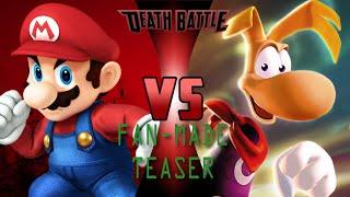Mario VS Rayman [Fan-Made DEATH BATTLE Teaser]