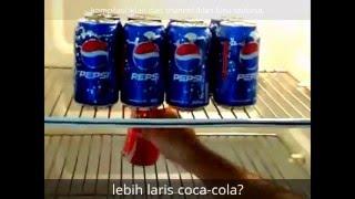 Iklan Lucu Coca Cola vs Pepsi yang saling serang (kompilasi)