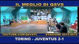 QSVS - I GOL DI TORINO - JUVENTUS 2-1  - TELELOMBARDIA / TOP CALCIO 24