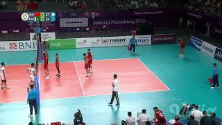 Pakistan Vs China Volleyball Match Highlight 2018 Asian Games Jakarta