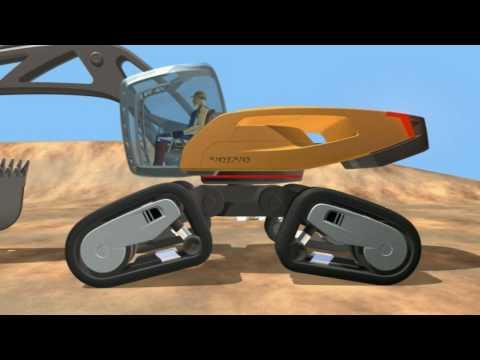 Volvo SFINX Volvo s futuristic Excavator concept machine