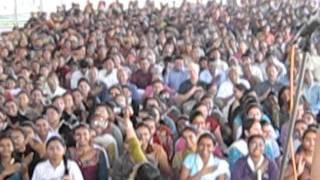 Mowtay (Navajo) performed by Libana w/ students at C.N. Vidyalaya School (Gujarat, India) 2011