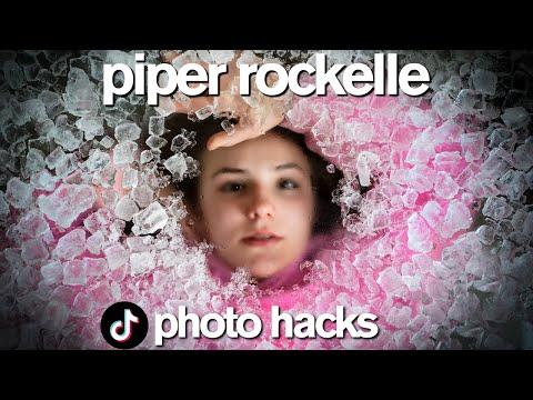 VIRAL TikTok Photo Hacks ft Piper Rockelle Boys vs Girls