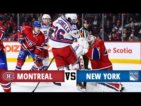 watch Montreal Canadiens vs New York Rangers | Season Game 44 | Highlights (14/1/17)