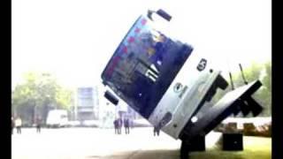 HIGER BUS TILT TESTING 海格(香港) 巴士 側翻測試
