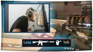 BLIND & DEAF 1v5! - Best of Loop (Legally Blind/Deaf CS:GO Player, Donation Reactions & More!)