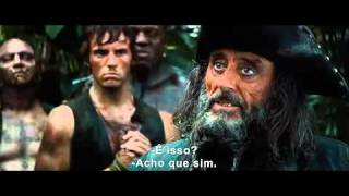 Piratas do Caribe 4 Trailer legendado