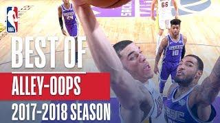 Best Alley-oop Dunks of the 2017-2018 NBA Regular Season