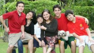 TONI GONZAGA WITH HER FAMILY,FRIENDS AND DIREK PAUL'S FRIENDS