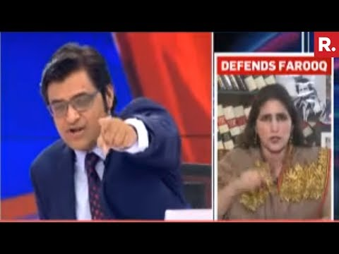 Xxx Mp4 Arnab Goswami Vs Shabnam Lone DreamOnFarooq 3gp Sex