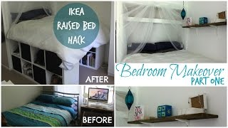 DIY IKEA RAISED BED made from Kallax/Expedit bookshelf!  | Chelsea Mason