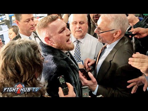 Conor Mcgregor I m gonna stop floyd The world is gonna eat their words I am boxing
