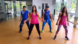 ZUMBA Ministry Of Road Machel Montano BY Honduras Dance Crew