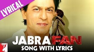 Lyrical: Jabra Fan Anthem Song with Lyrics | Shah Rukh Khan | Varun Grover