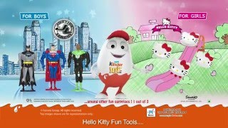 Kinder Joy brings Justice League & Hello Kitty