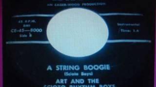Art And The Scioto Rhythm Boys - A String Boogie