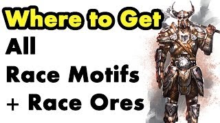 Elder Scrolls Online: Where to Get Racial Motifs Learn Crafting Styles Guide