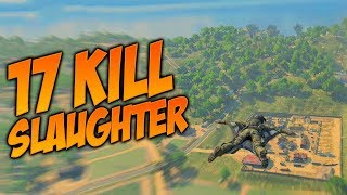 17 Kill Slaughter in Blackout (Call of Duty Blackout Gameplay)