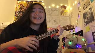 all I want for christmas is youwu (ukulele cover + special guest)