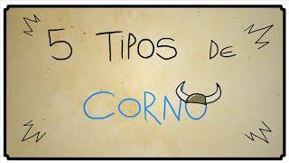 5 TIPOS DE CORNO