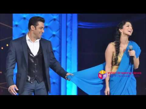 Xxx Mp4 Salman Khan Removed Sunny Leone Saree In Zee Cine Award 2017 सलमान खान ने उतारी सनी लियॉन की साडी 3gp Sex