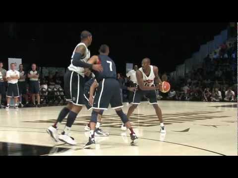 USA Basketball Training for the 2012