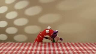 Behind-the-Scenes: Sock Puppets Eating People Food - Episode 01