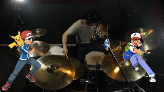 Kin | Pokemon | Gotta Catch Em' All (Pokemon Theme Song) | Drum Cover (Studio Quality)