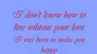 Britney Spears - Born to make you happy (lyrics)