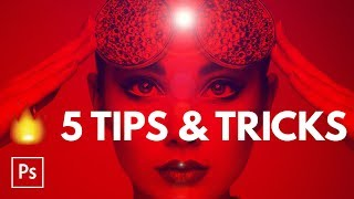 5 HOT Photoshop Tips & Tricks in Five Minutes