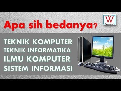 [SekolahIT] Perbedaan Teknik Komputer, Teknik Informatika, Ilmu Komputer dan Sistem Informasi