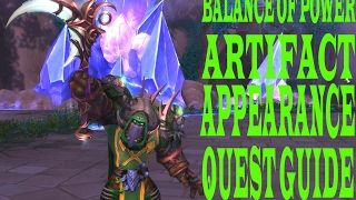 BALANCE OF POWER ARTIFACT APPEARANCE QUEST GUIDE Complet 100%