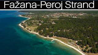 🔵 3 km long pebble beach  in Istria   Fažana-Peroj   Maris real estate agency