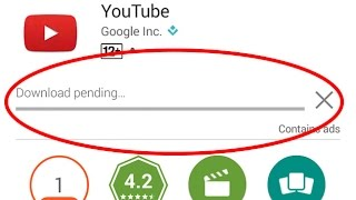 How to fix Download Pending Error in Google play store
