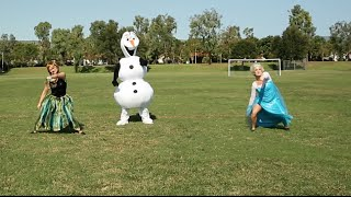 Frozen Whip and Nae Nae - Anna, Elsa and Olaf