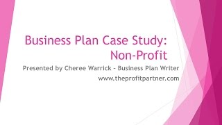 Business Plan Case Study for Nonprofits