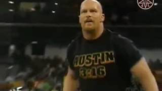 Kane returns and saves Undertaker from Stone Cold - WWE SmackDown 5/10/2001