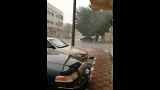 Hail storm Dammam