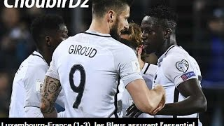 Luxembourg VS France (1-3) World Cup 2018 Qualifications