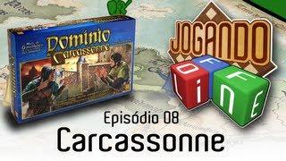 Carcassonne - Review por Jogando Offline (Ep.08)