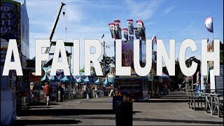 Fair Lunch Vlog (The South Mississippi Fair Laurel, MS)
