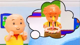 Surprise For Leo | Funny Animated cartoons Kids | WATCH ONLINE | Caillou Stop Motion