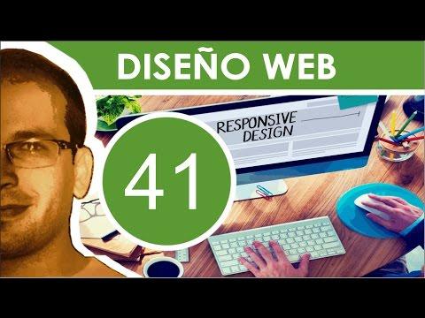 Diseño Web 41 al 43 - Actualizar Diseño, Funcionalidades y Contenido