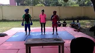 Wushu fight Rahul 2017 bathinda.....
