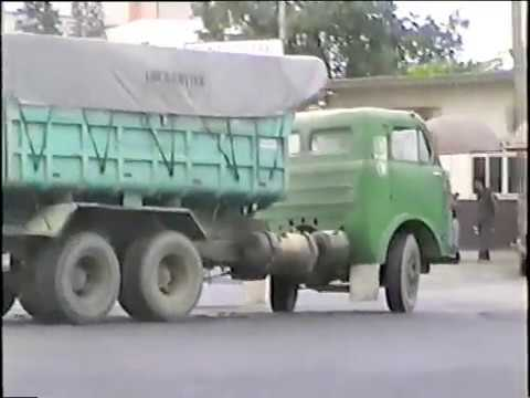 FNM D 11.000 em Paranaguá PR Old truck in Brazil