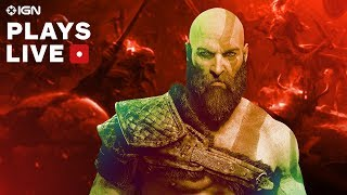 (SPOILERS!) God of War: Conquering the Muspelheim Challenges Gameplay Livestream - IGN Plays Live