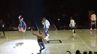 Chris Brown brings out Usher & Future Party Tour 2017