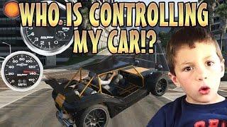 CONTROLLING KIDS CAR TROLLING! (GTA 5 Mods)